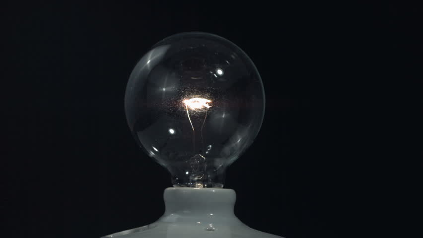 Slow motion breaking light bulb | Shutterstock HD Video #21468991