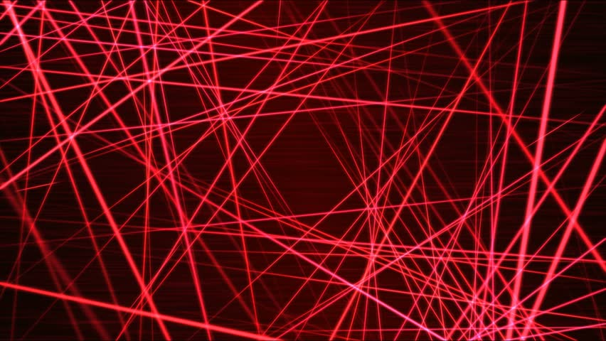Moving through Light/Laser Beams Animation Animation - Loop Red | Shutterstock HD Video #21521929