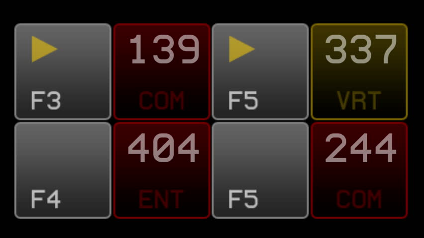 4k IT software data interface numbers. 6415_4k | Shutterstock HD Video #21864793