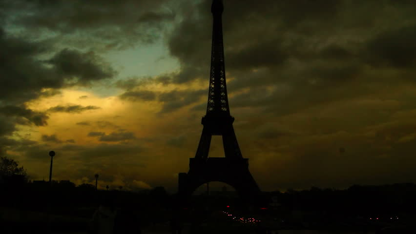 Eiffel Tower the most famous attraction in Paris | Shutterstock HD Video #2231608