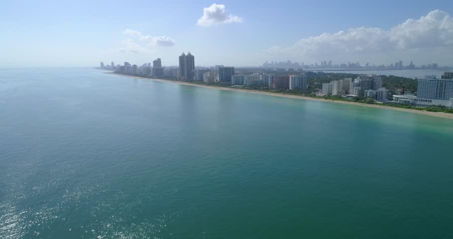 Miami Beach coastline 4k 60p | Shutterstock HD Video #22337230