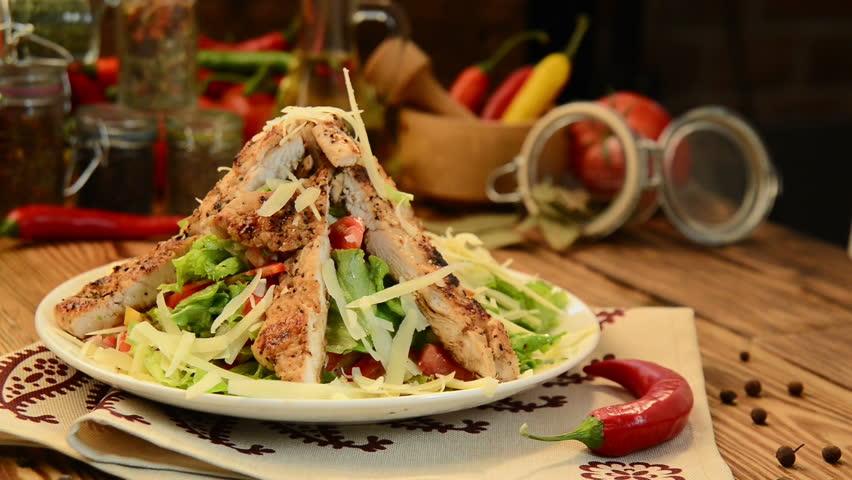 Georgian cuisine, Caesar salad #22360180