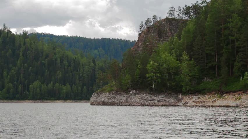 River summer mountain landscape in Syberia Russia #22451737