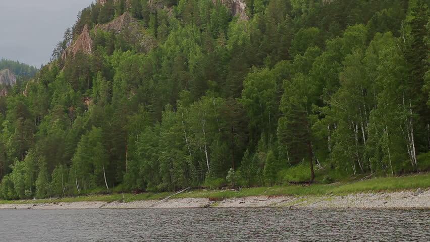 River summer mountain landscape in Syberia Russia #22451746