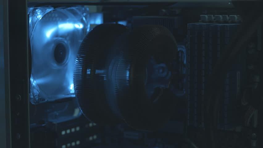 Computer ventilator in the night | Shutterstock HD Video #22713475