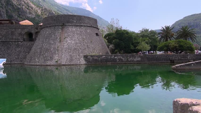 Ancient fortress in Budva, Budva, on July 3, 2015 | Shutterstock HD Video #22780228