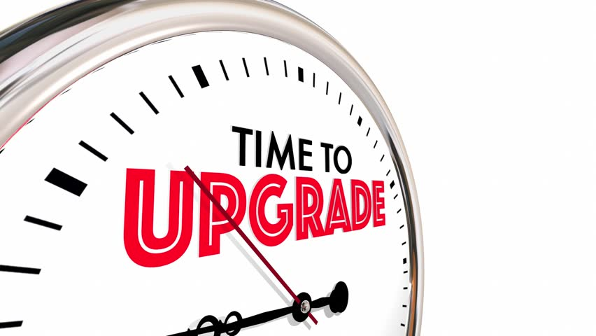 Time to Upgrade Clock Better Improvement 3d Animation #23000143