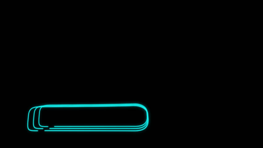 Neon Lines Lower Third 12 + Alpha Channel | Shutterstock HD Video #23041741