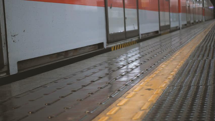 Train leaving an underground station   Shutterstock HD Video #23126629