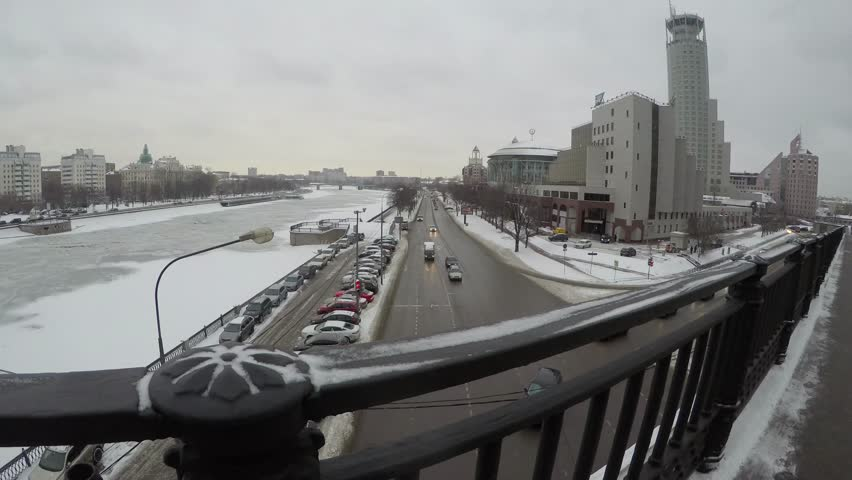 Moscow International Performing arts center. Stop-motion camera. | Shutterstock HD Video #23158300