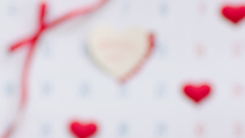 Valentine Marry me on the calendar page   Shutterstock HD Video #23213011