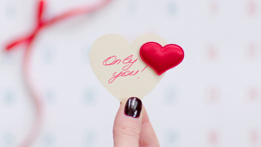 Valentine on the calendar page | Shutterstock HD Video #23213137