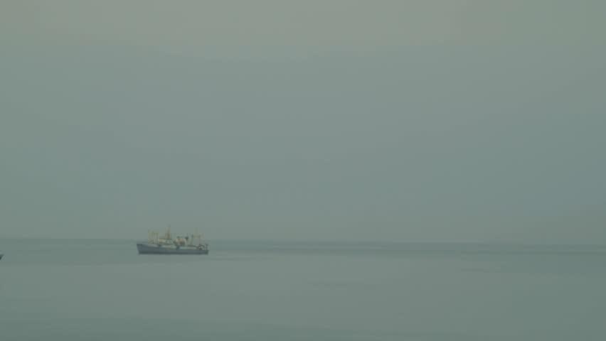 Ships Kunashir Island/ships Kunashir Island | Shutterstock HD Video #23213623