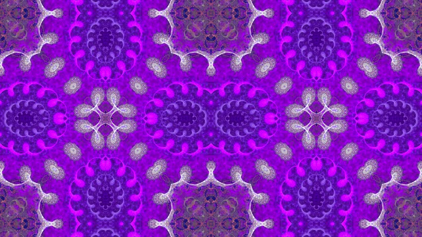 Abstract surreal loop motion background, variegated kaleidoscope | Shutterstock HD Video #23748097