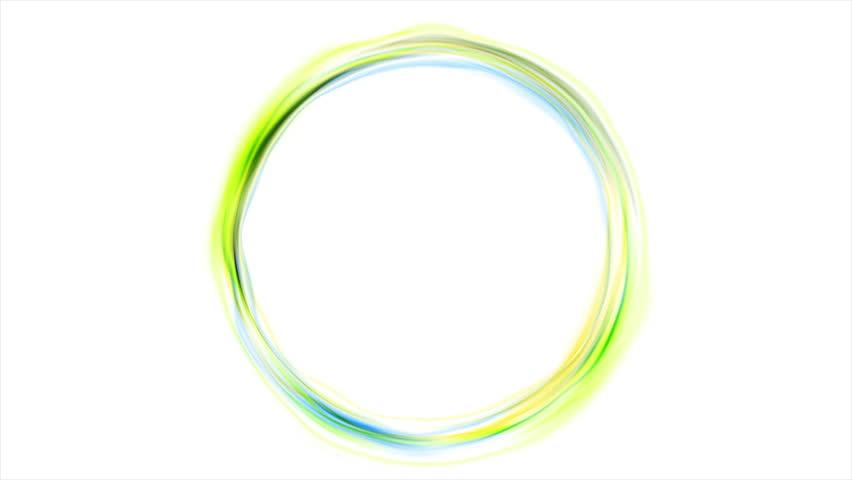 beautiful neon circles 4k - photo #27