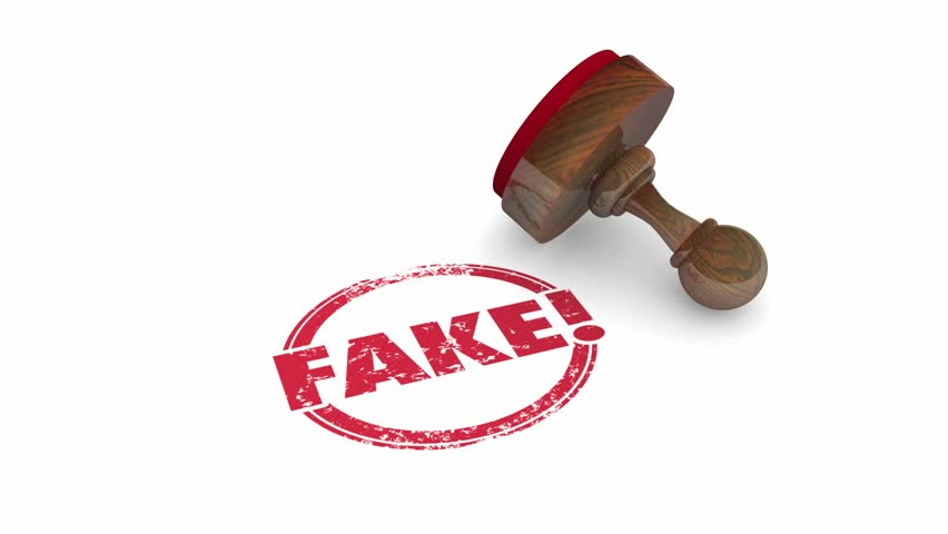 Fake Wrong Incorrect Lies Rejected Stamp Word 3d Animation | Shutterstock HD Video #23978758