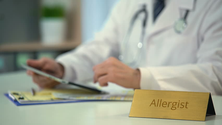Header of allergist