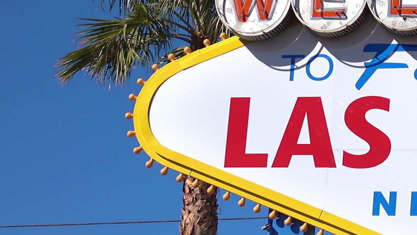 Three high quality videos of welcome to fabulous Las Vegas Sign | Shutterstock HD Video #24090232