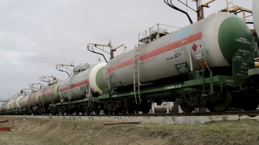 Railway tanks for the transportation of liquefied natural gas lpg | Shutterstock HD Video #24103300