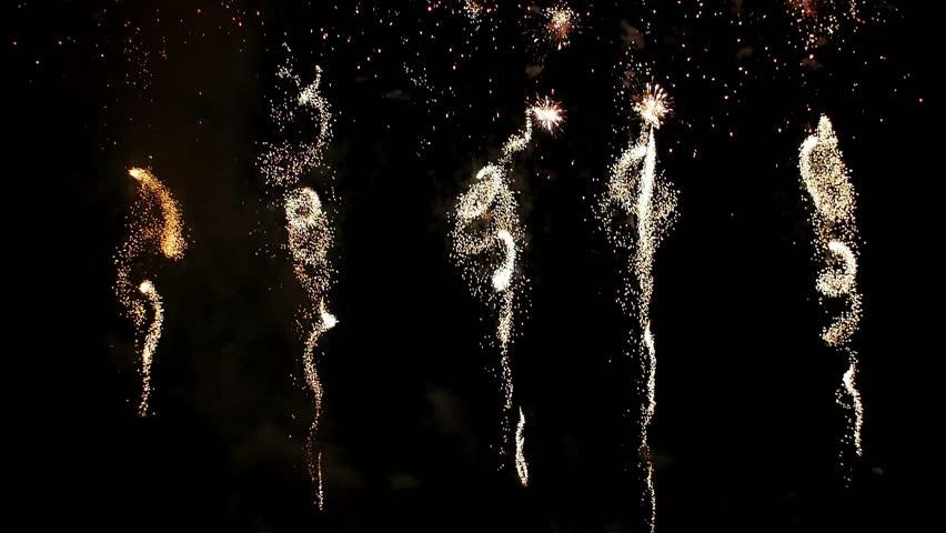 Statement of professional fireworks | Shutterstock HD Video #24106639