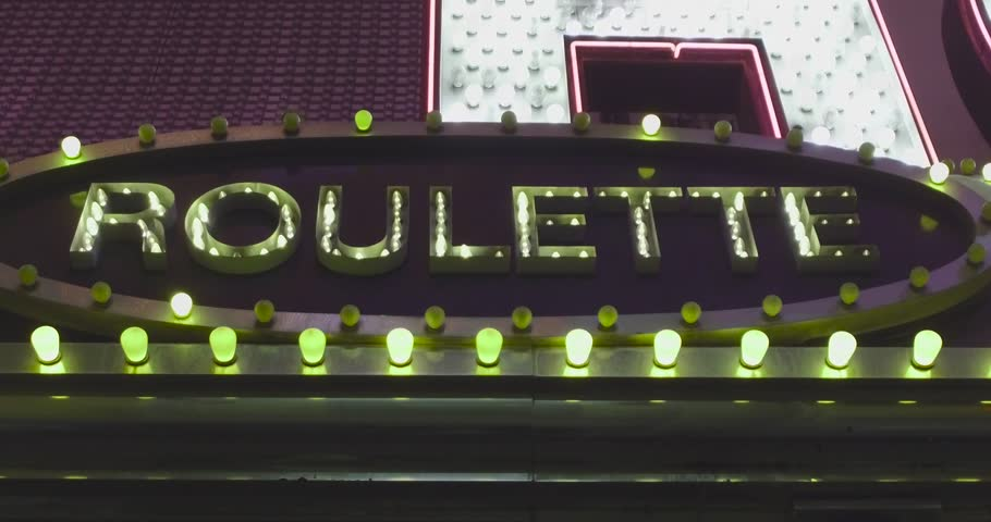 Bright and shiny roulette sign. Endless looped 4k video. | Shutterstock HD Video #24119527