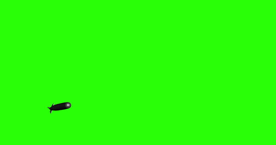 Green Screen Torpedo | Shutterstock HD Video #24121183
