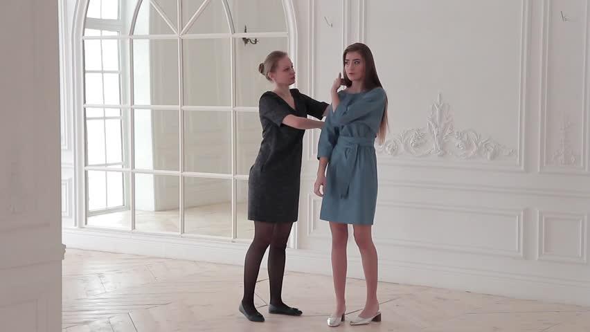 Fashion model posing in studio   Shutterstock HD Video #24122740