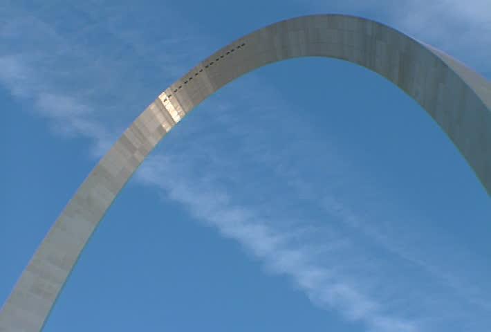 ST LOUIS - Circa 2002: Gateway Arch in St. Louis in 2002.