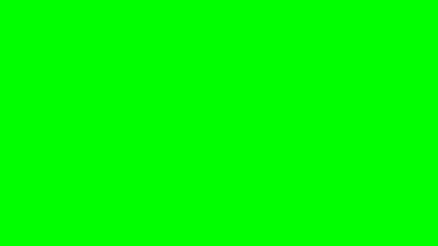 Render of Explosion on green screen
