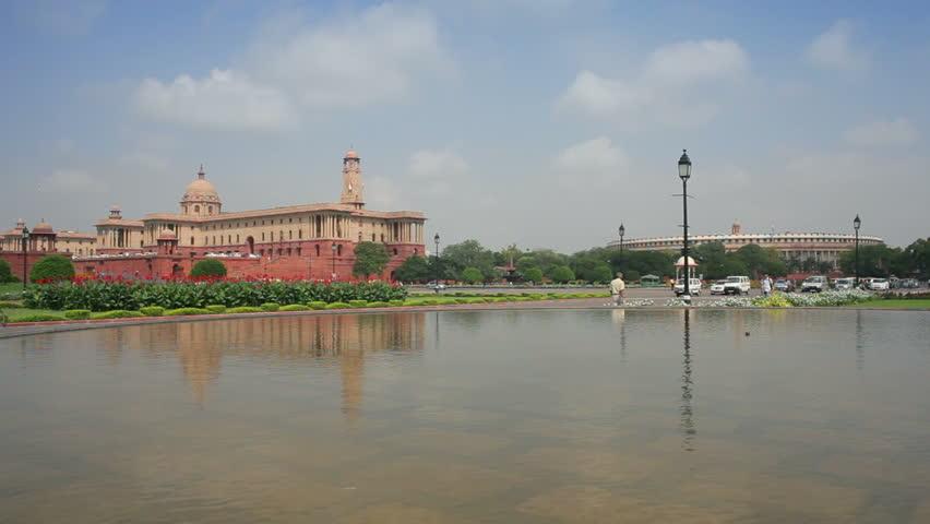 CIRCA MAY 2011: Raj Path Leading To The