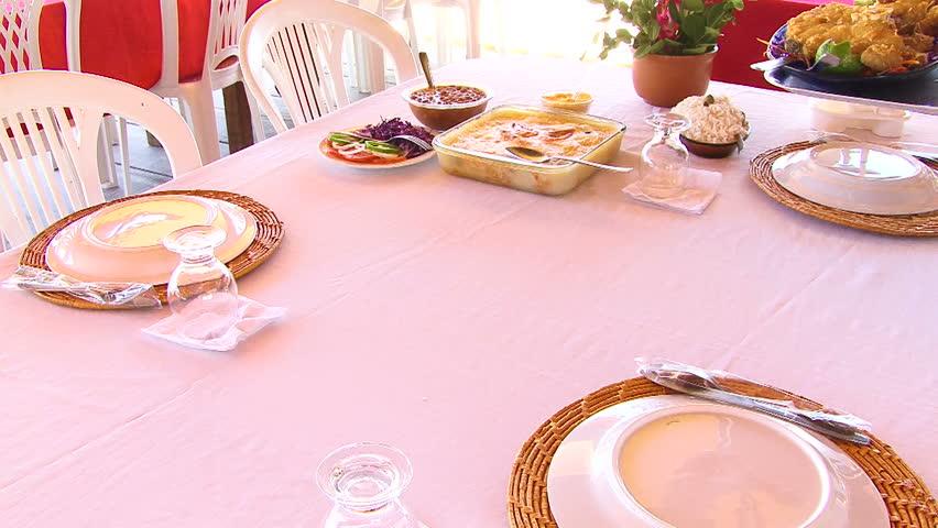 Food from Aracaju, Brazil - HD stock footage clip