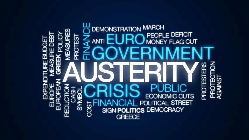in favor of austerity Paul krugman credit fred r conrad/the new york times nonetheless, every few months we're told that the bond vigilantes have arrived, and we must impose austerity now now now to appease them.