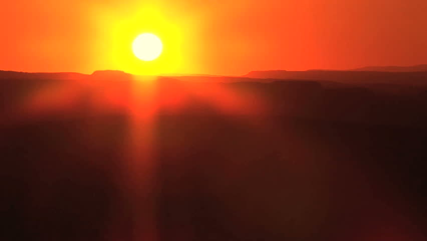 Southwest Sunset, Time Lapse - HD stock footage clip