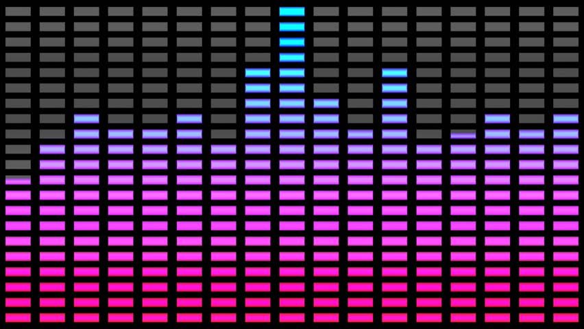 Music Bars Wallpaper: Seamlessly Looping Abstract Motion Background Video