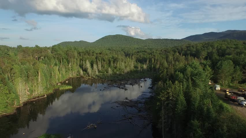 Header of Adirondack Mountains