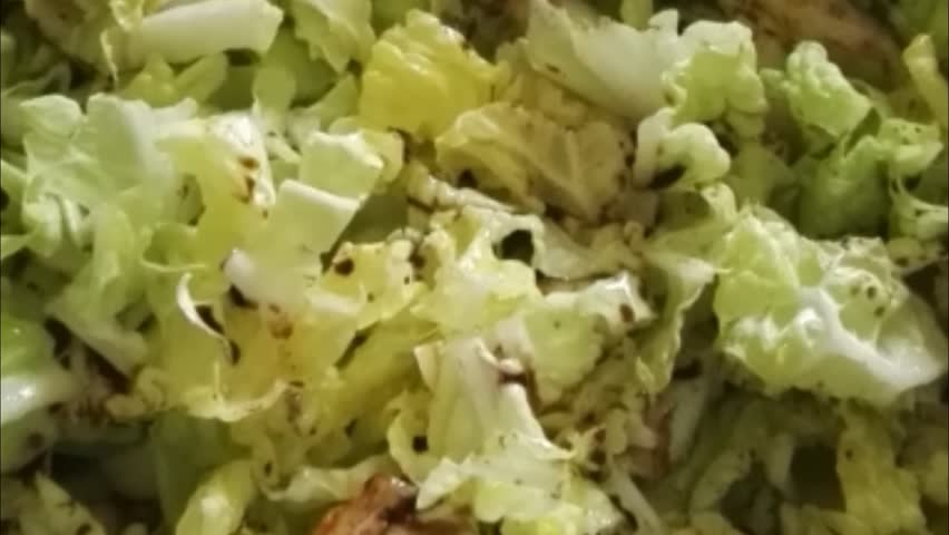 Header of salad bowl