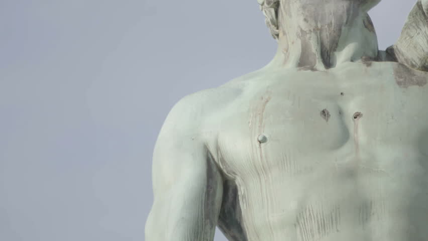 David by Michelangelo in bronze, Florence Tuscany Italy | Shutterstock HD Video #27211981