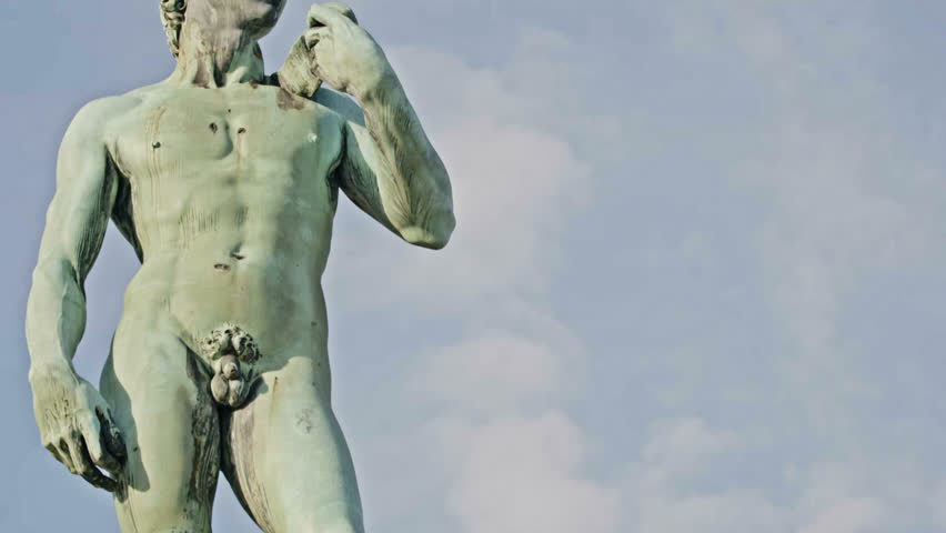 David by Michelangelo in bronze, Florence Tuscany Italy | Shutterstock HD Video #27211990