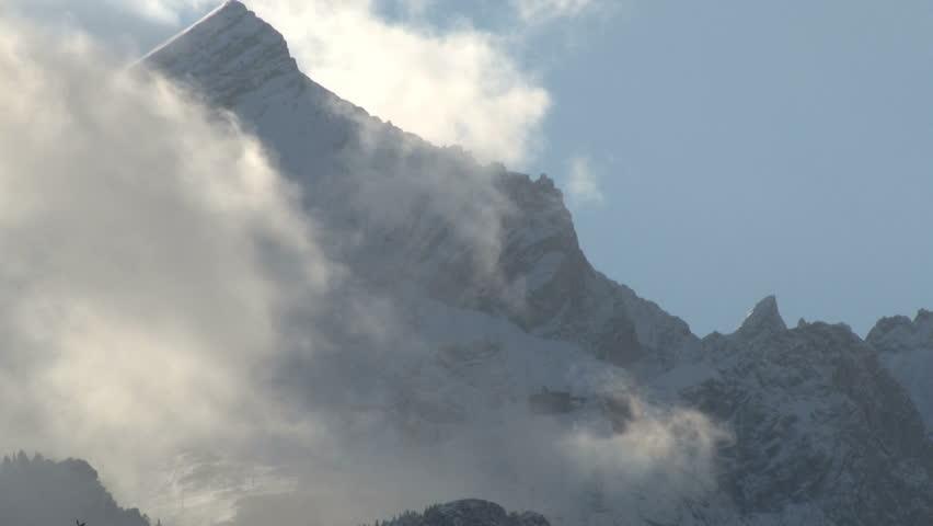 Header of mountain range