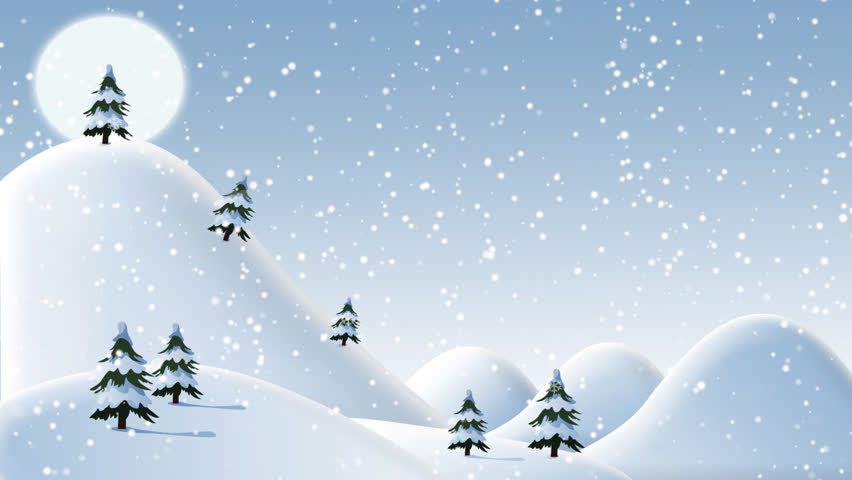 Animated Snow Falling Christmas