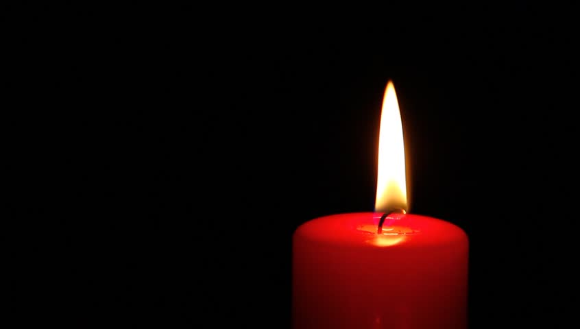 red candle black background - photo #23