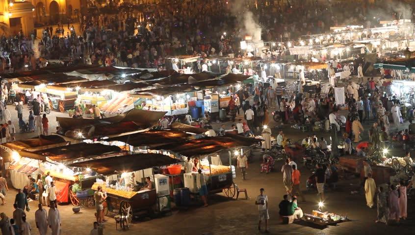 The Souks, Marrakesh, Morocco