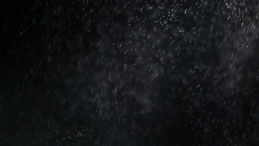 Slow motion : Close up of Water jet spraying on black background  | Shutterstock HD Video #28012873