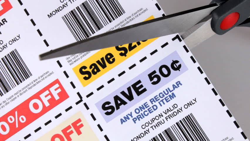 Cutting coupons