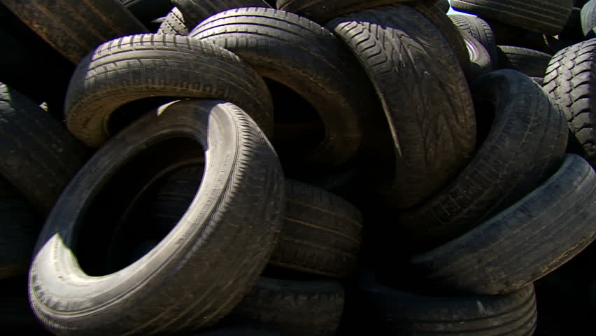 Old Car Rubber, Tire, Wheel