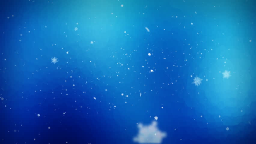Nice looping wintry holiday background of falling snowflakes. Good for themes of Winter Backgrounds, Holiday Festivities, Seasonal Activities. See my portfolio for more.