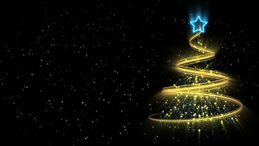 Christmas Tree Background - Merry Christmas 52 (HD) | Shutterstock HD Video #2844301