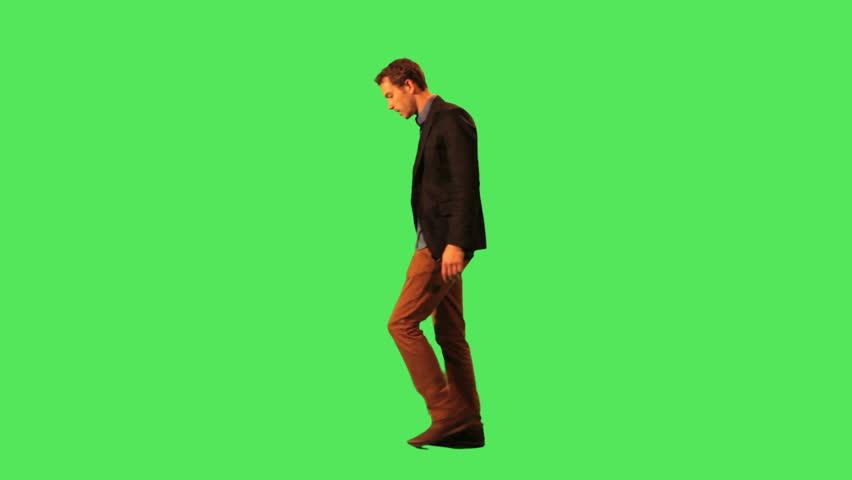 Male walking to work   Shutterstock HD Video #2851096