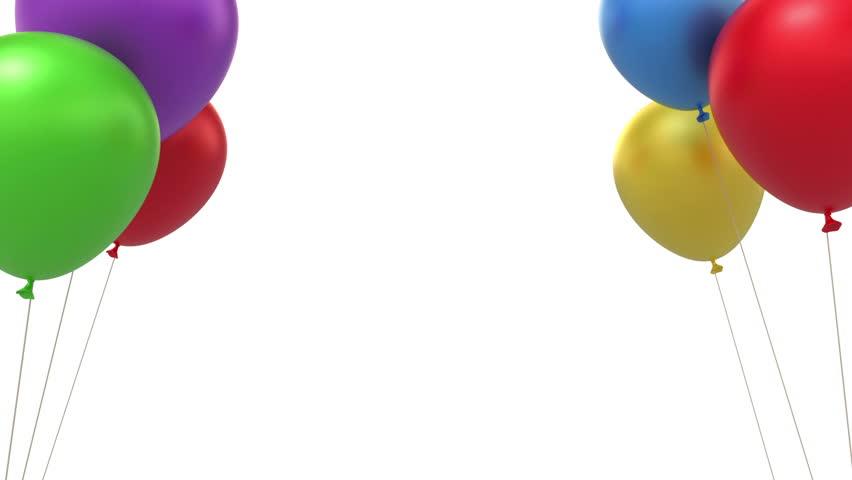 Happy Birthday, 3d Animation Stock Footage Video 2886508