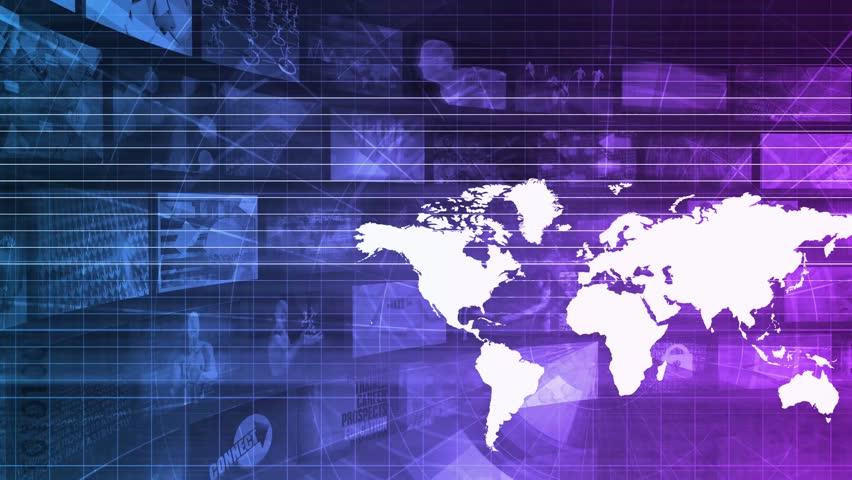 International Business Technology Industry Sector as Art | Shutterstock HD Video #28920253